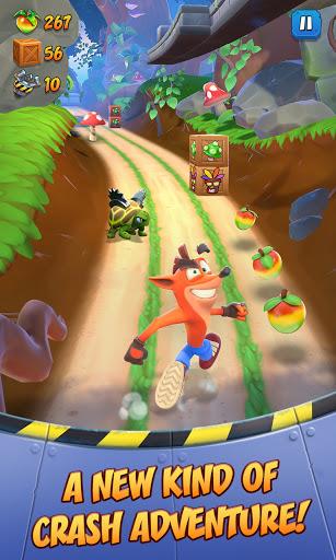 بازی اندروید در حال دویدن - سقوط باندیکوت - Crash Bandicoot: On the Run!