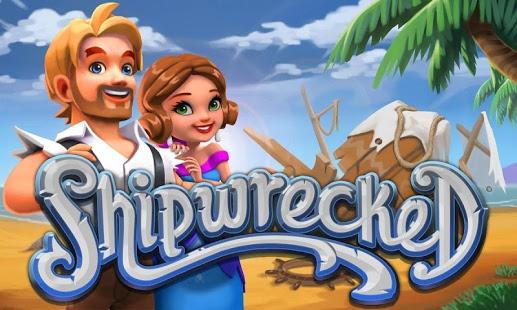 بازی اندروید داستان کشتی شکسته - Shipwrecked Lost Island Story
