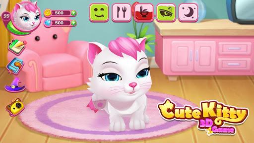 بازی اندروید گربه ناز - حیوان خانگی مجازی من 3 - 🐱🐱Cute Cat - My 3D Virtual Pet