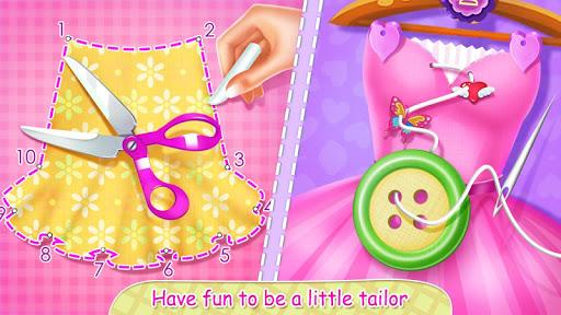 بازی اندروید فروشگاه خیاطی شاهزاده خانم - تولید کننده لباس کودکان و نوجوانان - Princess Tailor Shop - Kids Clothes Maker