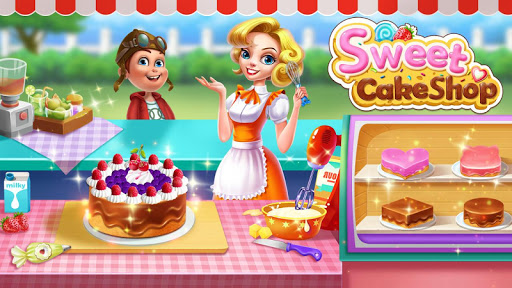 بازی اندروید  فروشگاه کیک شیرین - Sweet Cake Shop - Kids Cooking & Bakery