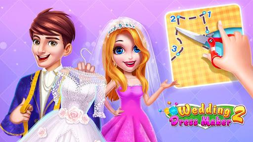 بازی اندروید فروشگاه لباس مجلسی 2 - 💍👗Wedding Dress Maker 2