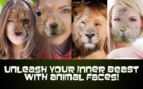 دانلود Animal Face Photo 2 1 دانلود نرم افزار تصویر چهره