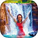 فریم آبشار برای تصاویر