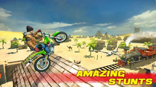 بازی اندروید شیرین کاری جدید موتور سیکلت 2- بازی های جدید 2020  - Bike Stunt 2 New Motorcycle Game - New Games 2020