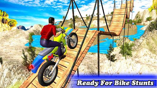 بازی اندروید موتور پرشی - Bike Stunt Tricks Master