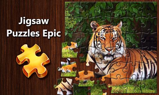 بازی اندروید حماسه پازل اره مویی - Jigsaw Puzzles Epic