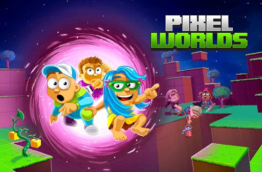 بازی اندروید دنیای پیکسل - Pixel Worlds