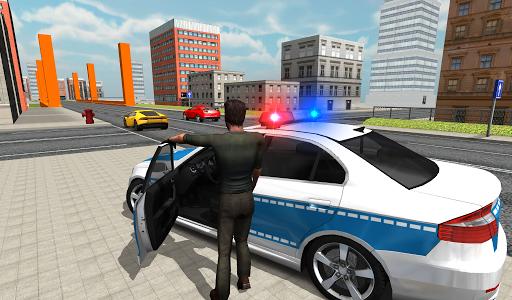 بازی اندروید راننده اتومبیل پلیس - Police Car Driver