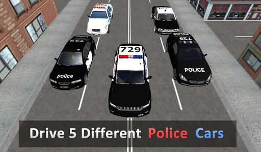 بازی اندروید مسابقه پلیس راهنمایی و رانندگی - Police Traffic Racer