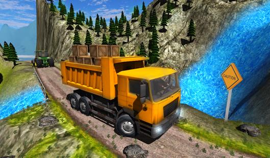 بازی اندروید راننده کامیون حمل بار - Truck Driver Cargo