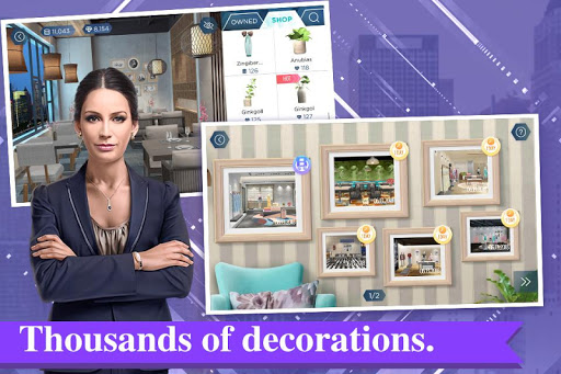 بازی اندروید طراح اتاق - Design My Room