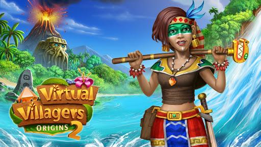 بازی اندروید رقیب روستاییان مجازی 2 - Virtual Villagers Origins 2