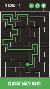 بازی اندروید مسیر پر پیچ و خم - Mazes & More