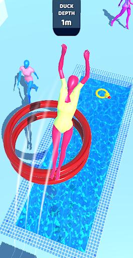 بازی اندروید غواص بنفش - Purple Diver