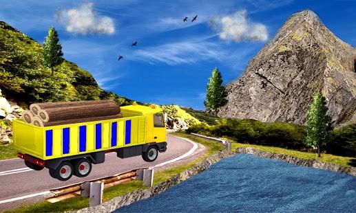 بازی اندروید راندن کامیون آفرود اروپا - Offroad Euro Truck Drive 2017