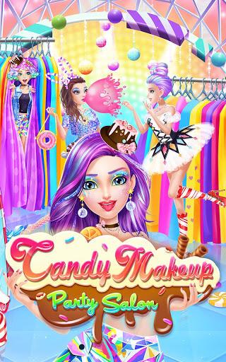 بازی اندروید سالن آرایش شیرین - Candy Makeup Party Salon