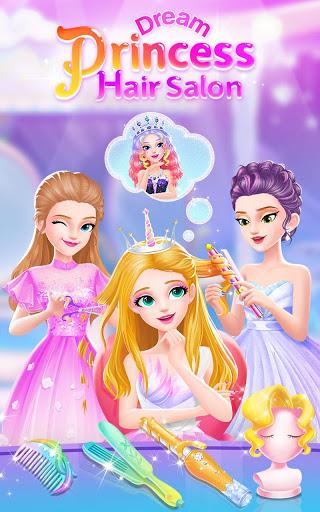 بازی اندروید آرایشگاه رویایی پرنسس - Princess Dream Hair Salon