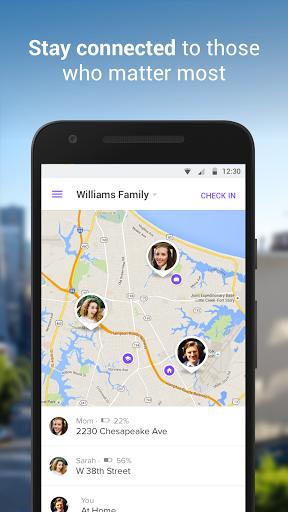 نرم افزار اندروید مکان یاب خانواده - Family Locator - GPS Tracker