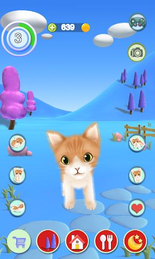 بازی اندروید گربه سخنگو - Talking Cat