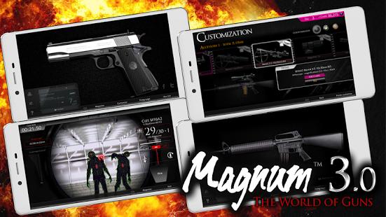 بازی اندروید مگنوم - دنیای تفنگ ها - Magnum 3.0 World of Guns