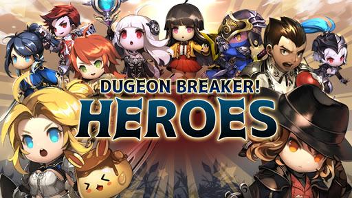 بازی اندروید قهرمانان قاتل سیاه چال - Dungeon Breaker Heroes