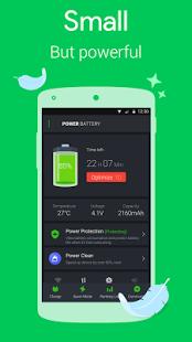 نرم افزار اندروید قدرت باتری - ذخیره شارژ - Power Battery - Battery Saver