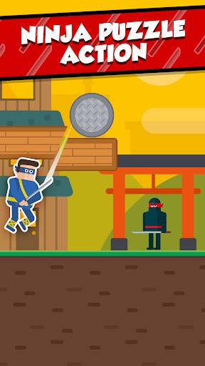بازی اندروید آقا نینجا - پازل اسلیسی - Mr Ninja - Slicey Puzzles