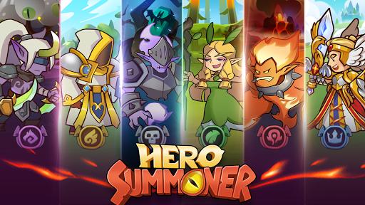 بازی اندروید احضار کننده قهرمان - Hero Summoner - Free Idle Game