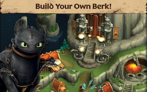 بازی اندروید اژدها - محافظان برک - Dragons: Rise of Berk