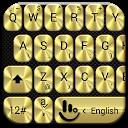 نرم افزار تم صفحه کلید طلایی