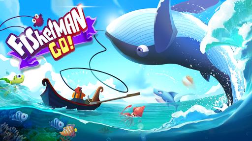 بازی اندروید برو ماهیگیر - Fisherman Go!