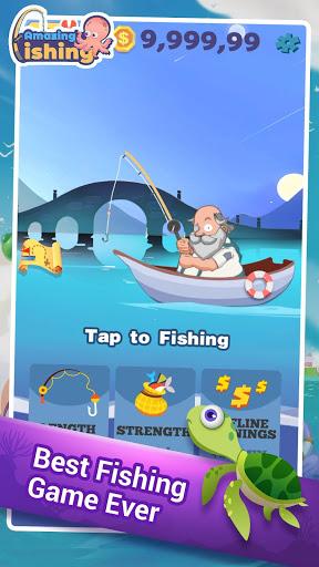 بازی اندروید ماهیگیری شگفت انگیز - Amazing Fishing