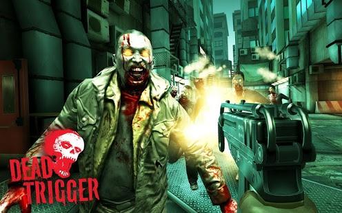 بازی اندروید ماشه مرگ - DEAD TRIGGER