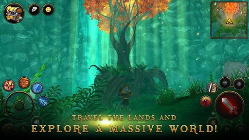 بازی اندروید روستائیان و قهرمانان - 3D MMO Villagers & Heroes