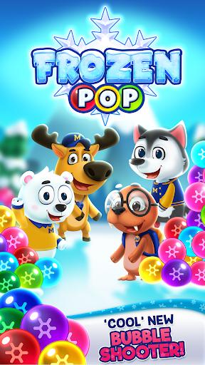 بازی اندروید  پاپ منجمد - Frozen Pop