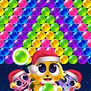 بازی ترکیدن گربه های فضایی - ترکیدن حباب بچه گربه ها