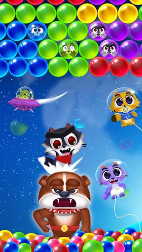 بازی اندروید ترکیدن گربه های فضایی - ترکیدن حباب بچه گربه ها - Space Cats Pop - Kitty Bubble Pop Games