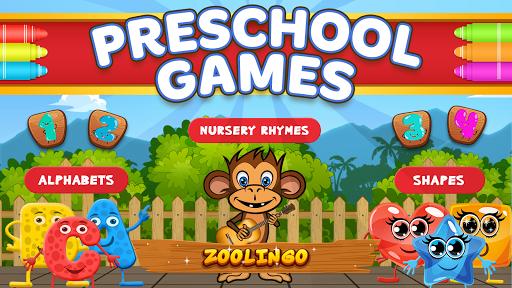بازی اندروید بازی های آموزشی پیش دبستان - Preschool Learning Games for Toddlers - Zoolingo!