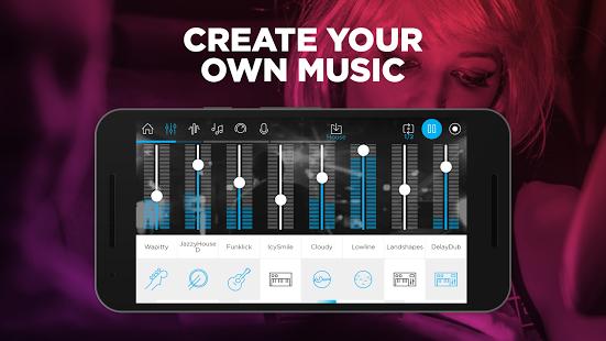 نرم افزار اندروید موسیقی ساز جم - Music Maker Jam