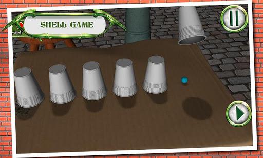 بازی اندروید توپ یاب - Shell Game