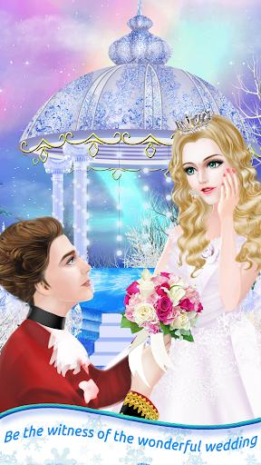 بازی اندروید شاهزاده خانم یخ - سالن اسپا سحر و جادو - Ice Princess - Magic Spa Salon