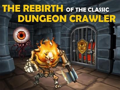 بازی اندروید زندان هیولاها - Dungeon Monsters - RPG