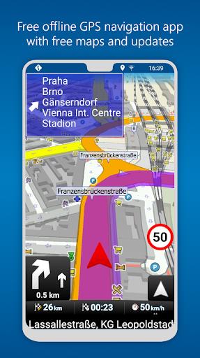 نرم افزار اندروید مسیریاب مپ فکتور - MapFactor GPS Navigation Maps