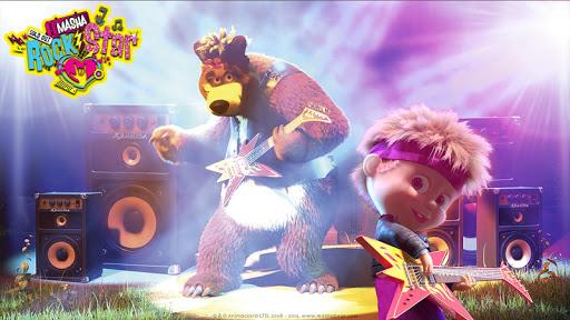 بازی اندروید ماشا و خرس -- بازی های موسیقی برای کودکان - Masha and the Bear: Music Games for Kids