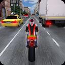 بازی مسابقه موتورسواری ترافیک