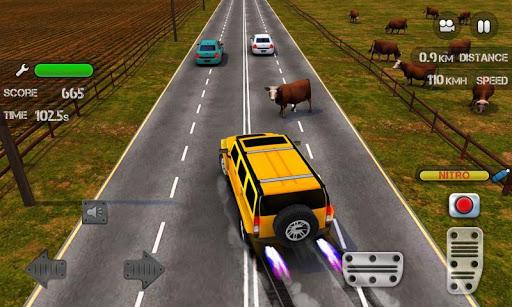 بازی اندروید مسابقات ترافیک نیترو - Race the Traffic Nitro