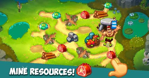 بازی اندروید دوران سنگ - بازی مدیریت زمان - Stone Age: Time management game