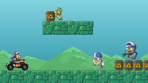 بازی اندروید حمله به زامبی - Paw Attack Zombies