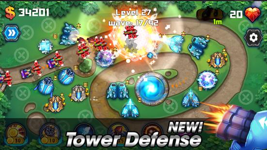 بازی اندروید دفاع از برج - میدان نبرد - Tower Defense: Battlefield